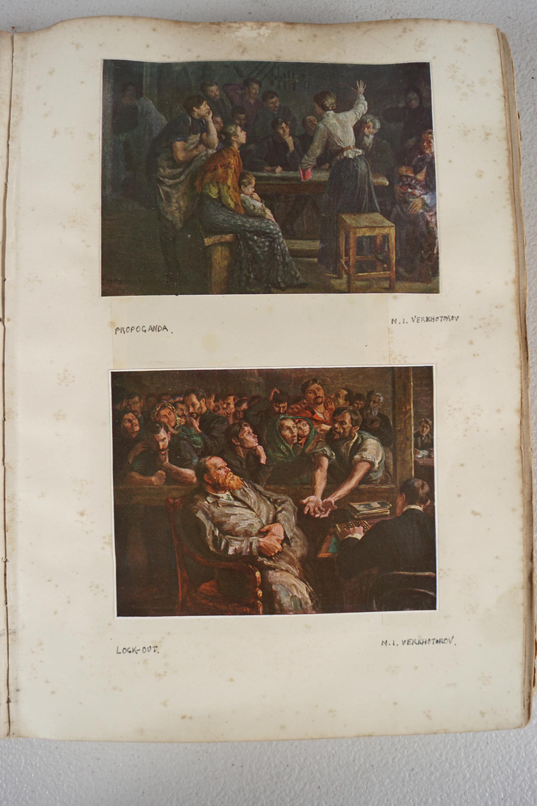 BOOK: RUSSIAN SCRAP BOOK - Image 2 of 5