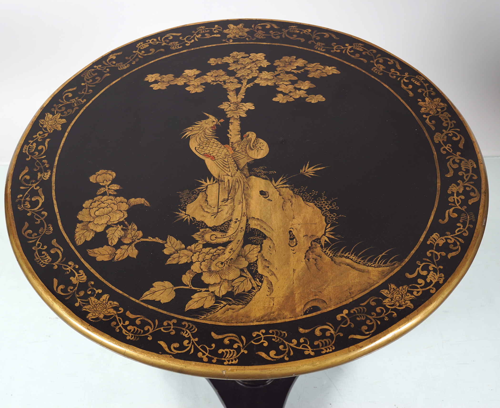 CHINESE LACQUERED LOW TABLE - Image 3 of 4