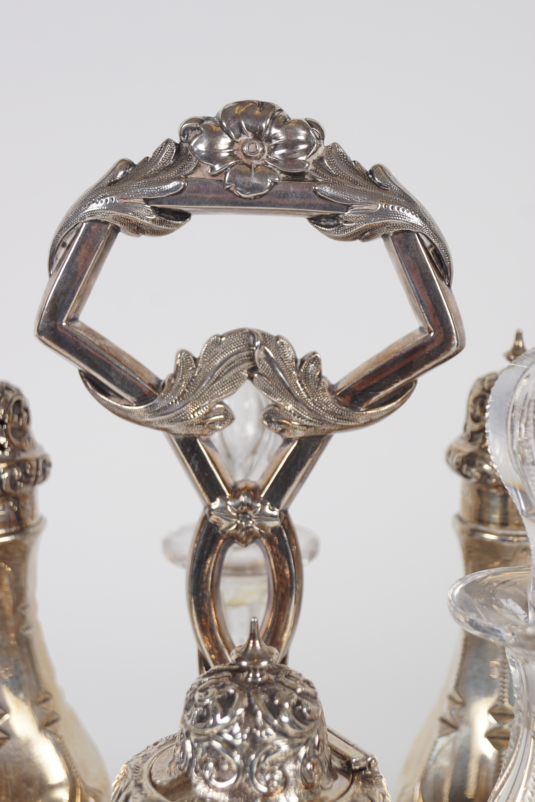 SILVER CONDIMENT SET - Image 2 of 7