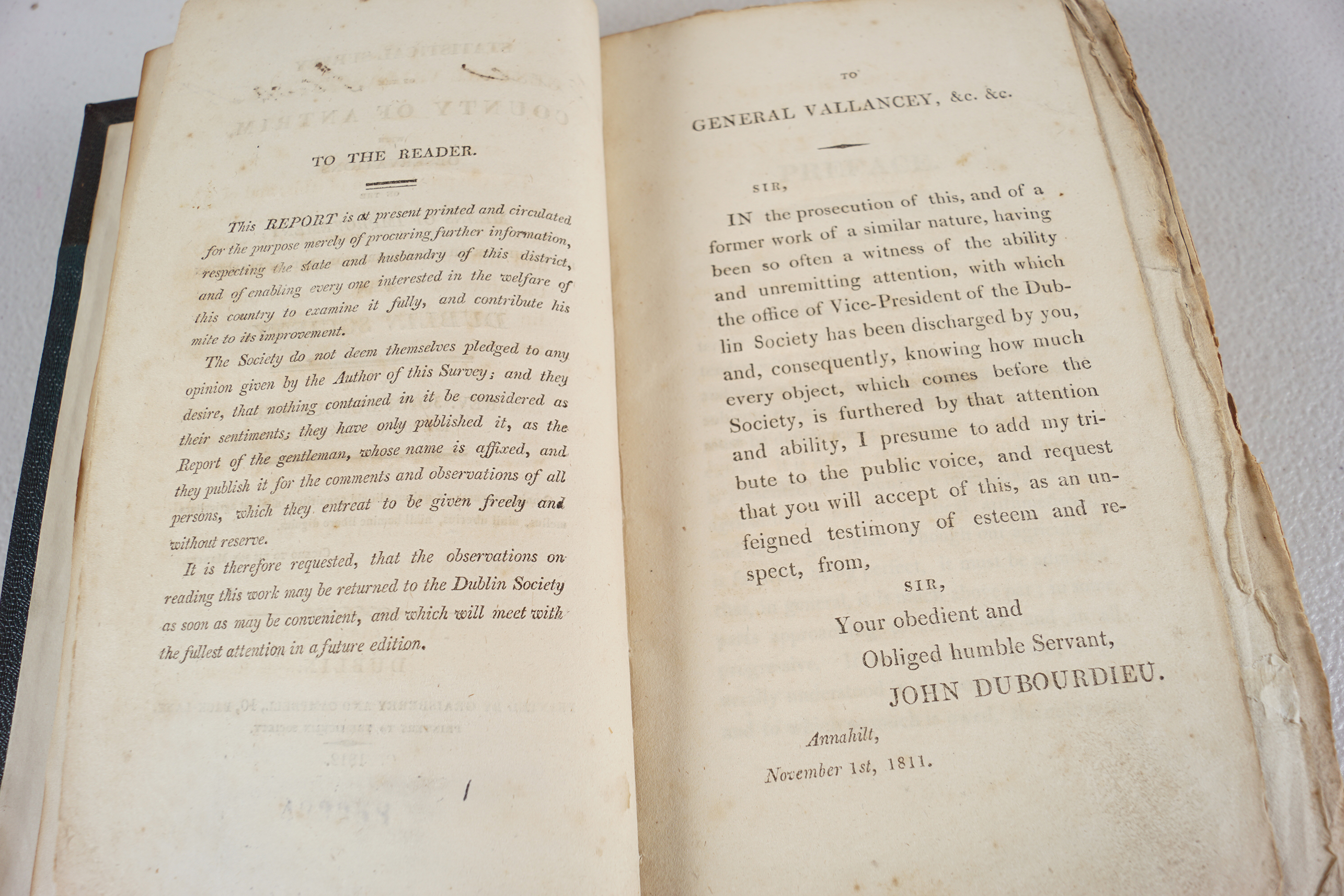 BOOK: STATISTICAL SURVEY OF THE COUNTY OF ANTRIM - Image 3 of 6