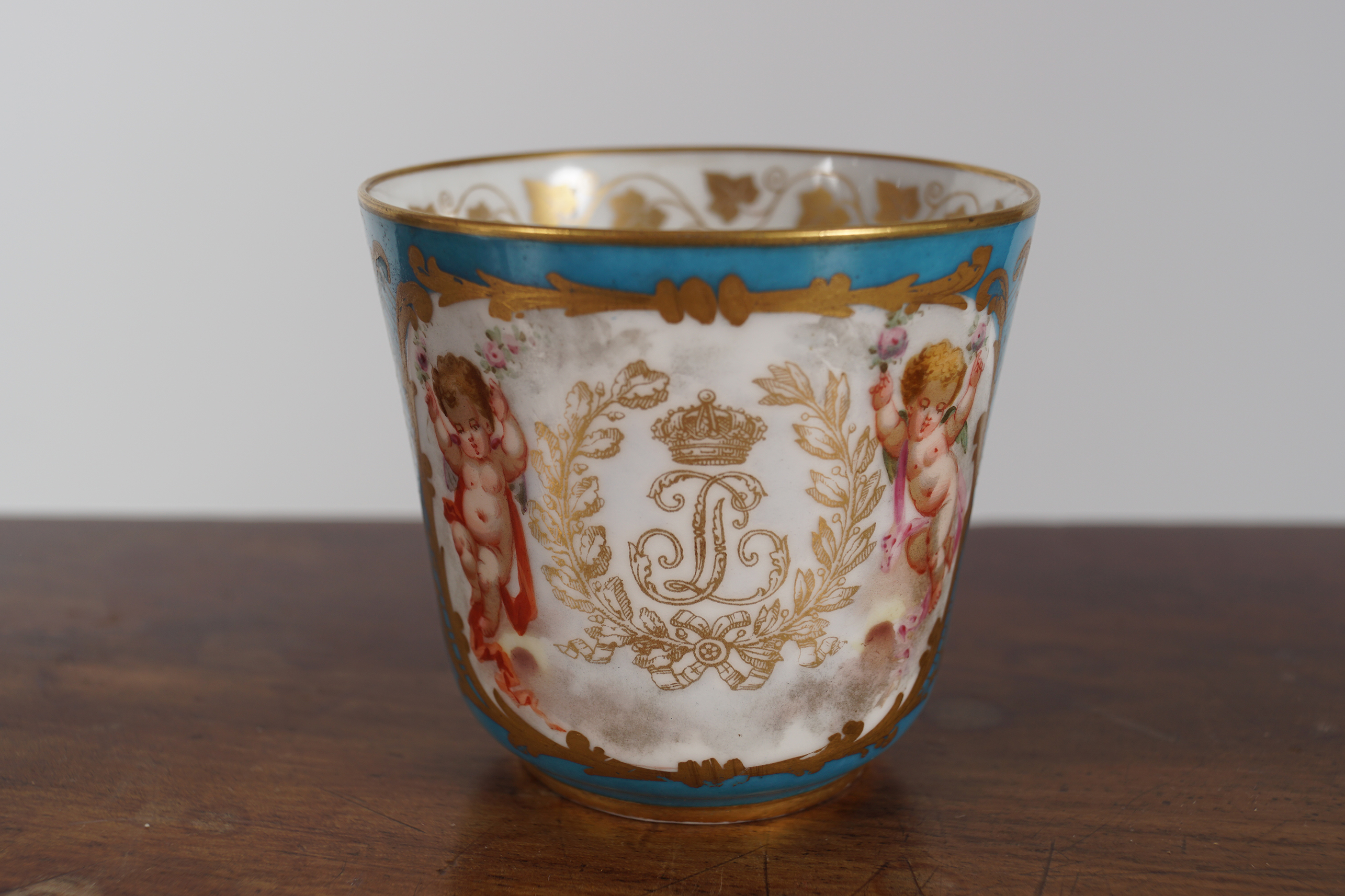 19TH-CENTURY SEVRES CUP - Image 2 of 3