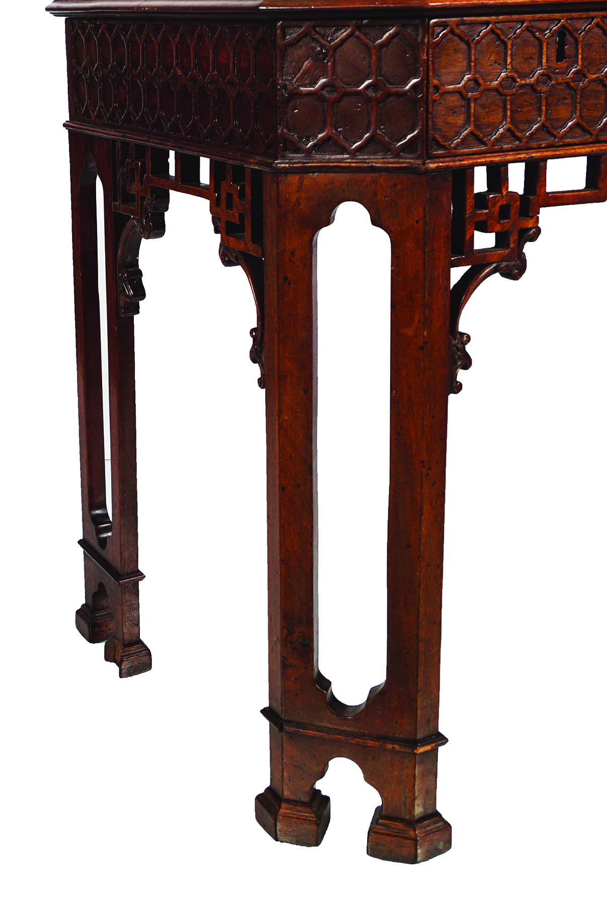 18TH-CENTURY PERIOD CHINESE CHIPPENDALE TABLE - Image 3 of 7
