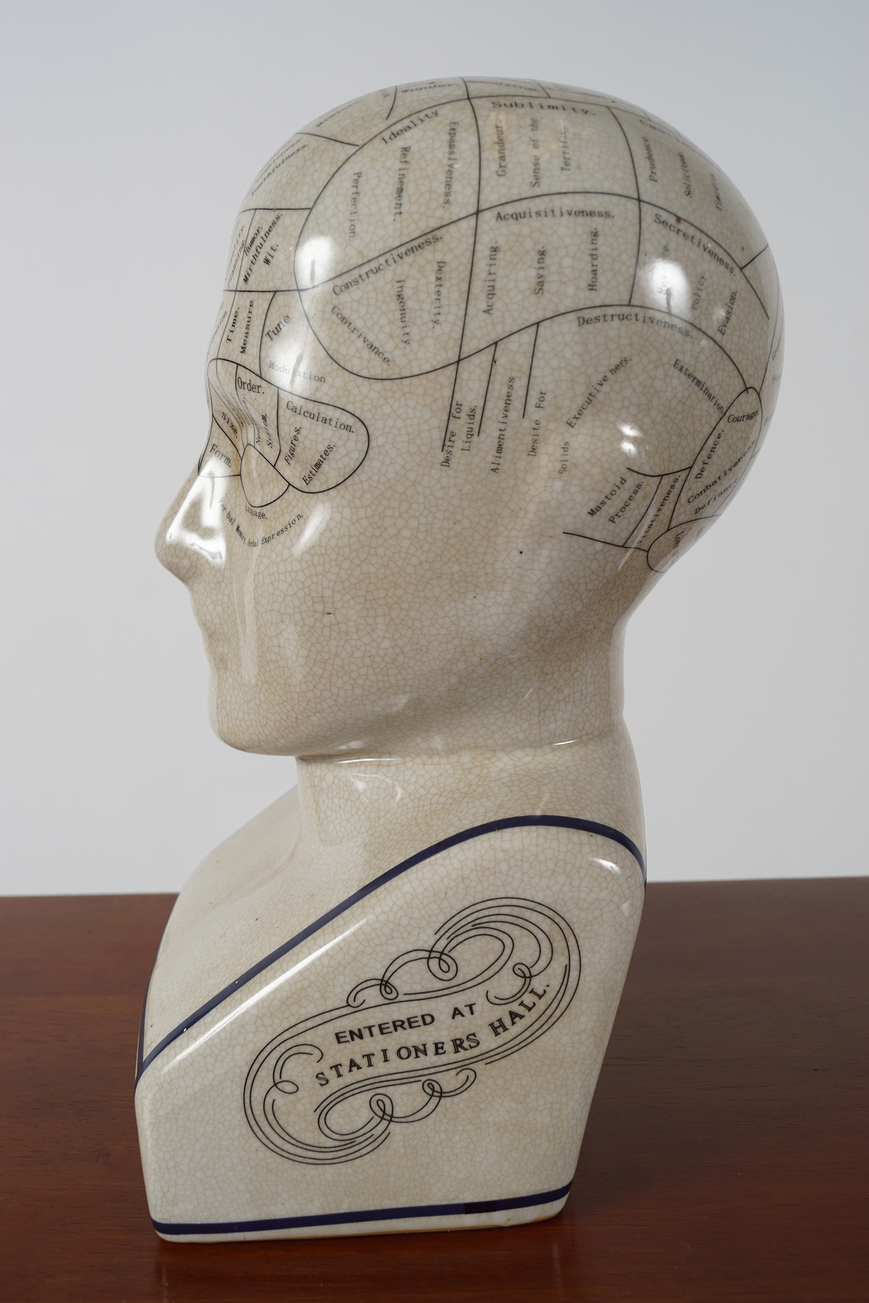 PHRENOLOGY HEAD - Image 2 of 4