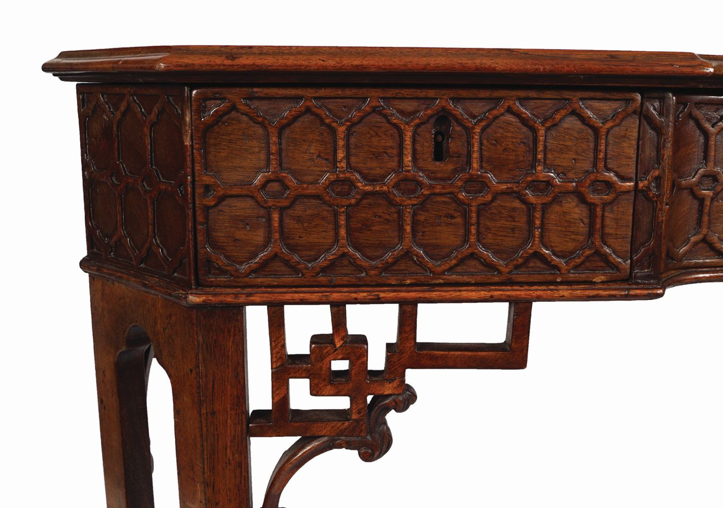 18TH-CENTURY PERIOD CHINESE CHIPPENDALE TABLE - Image 5 of 7