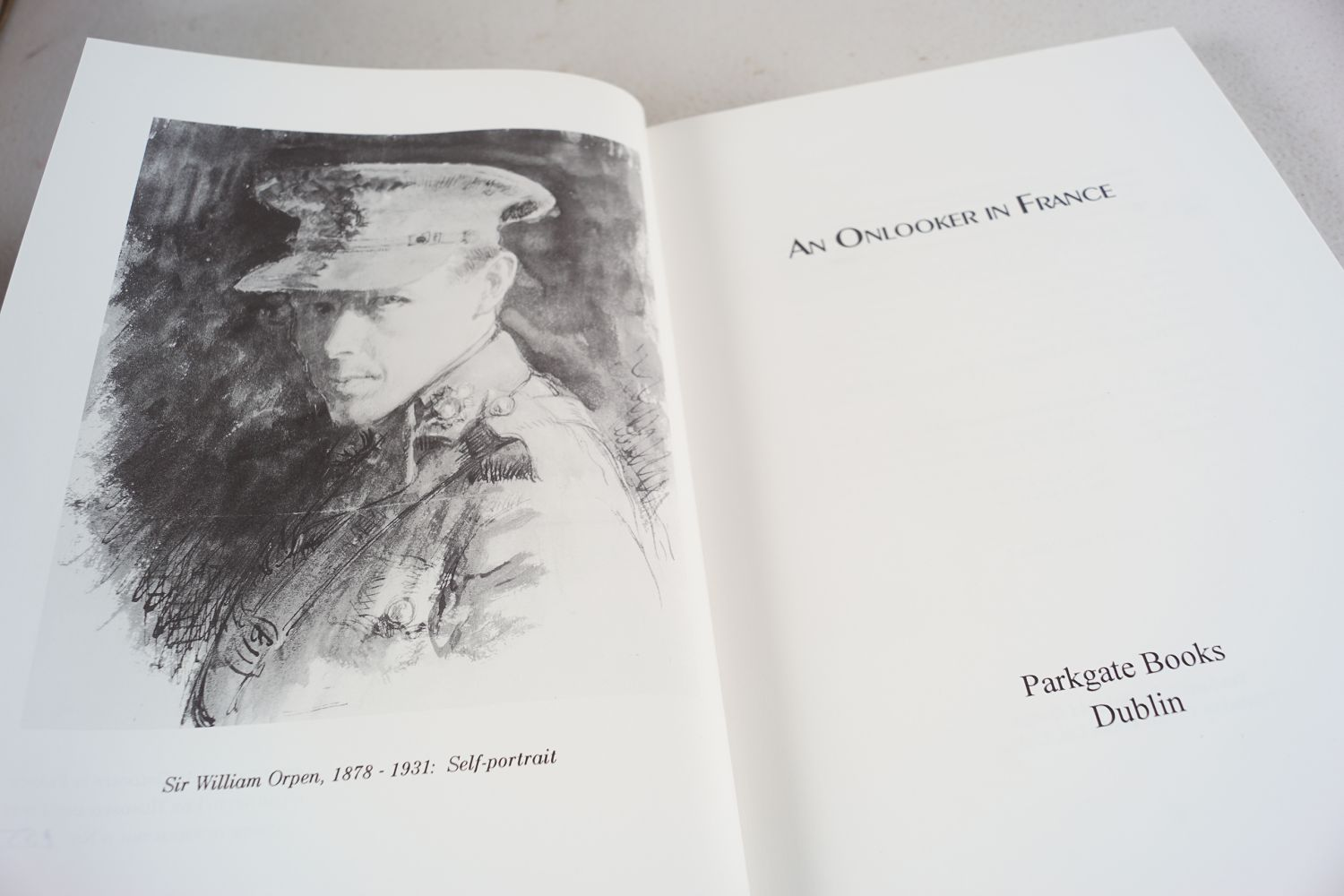 BOOK: AN ONLOOKER IN FRANCE - Image 4 of 7