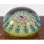 MILLE FIORI GLASS PAPERWEIGHT