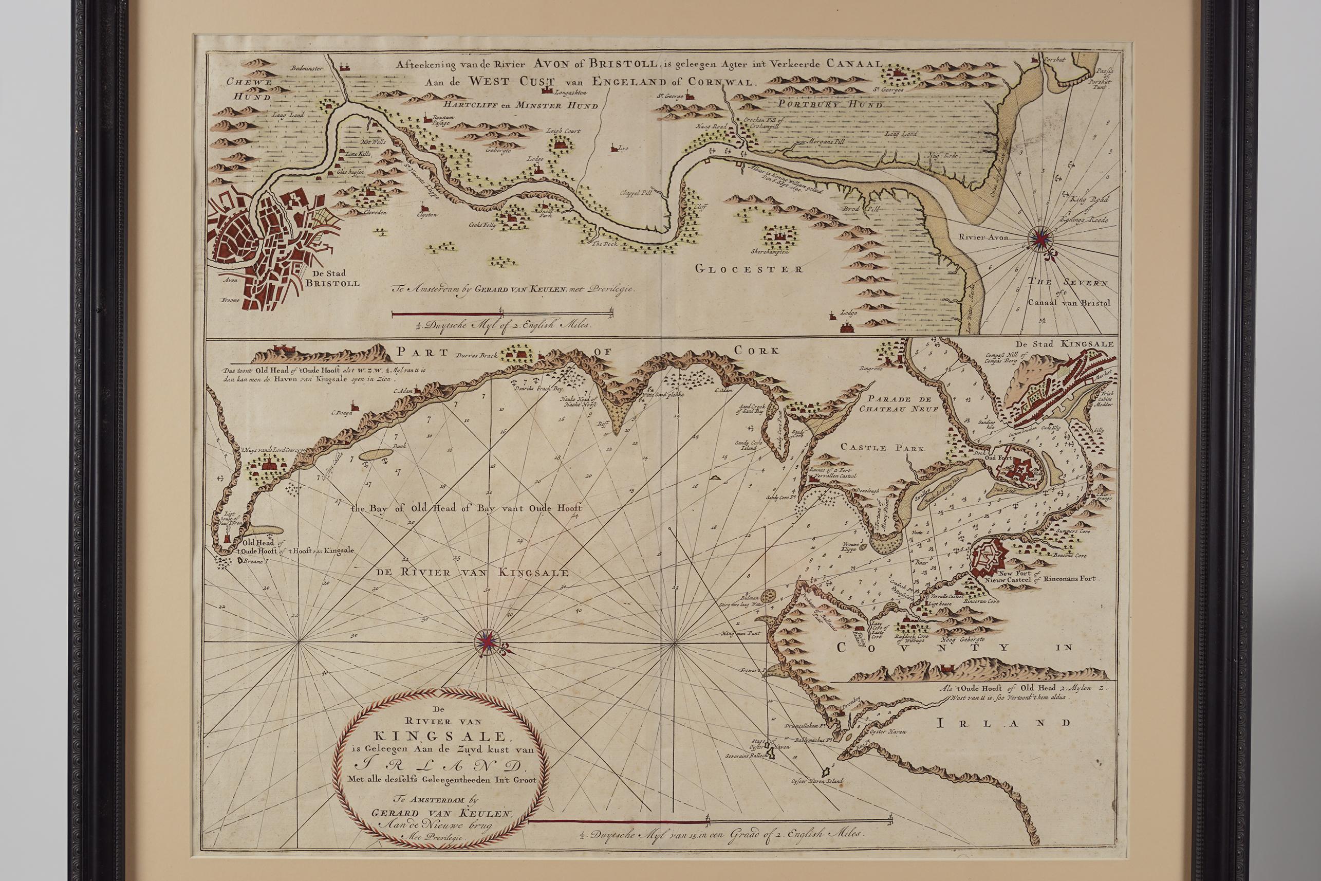 JOHNANNES VAN KEULEN (C. 1654-1715) - Image 2 of 3