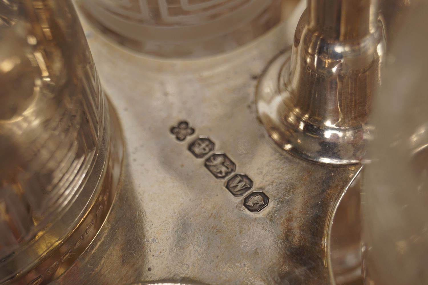 SILVER CONDIMENT SET - Image 7 of 7