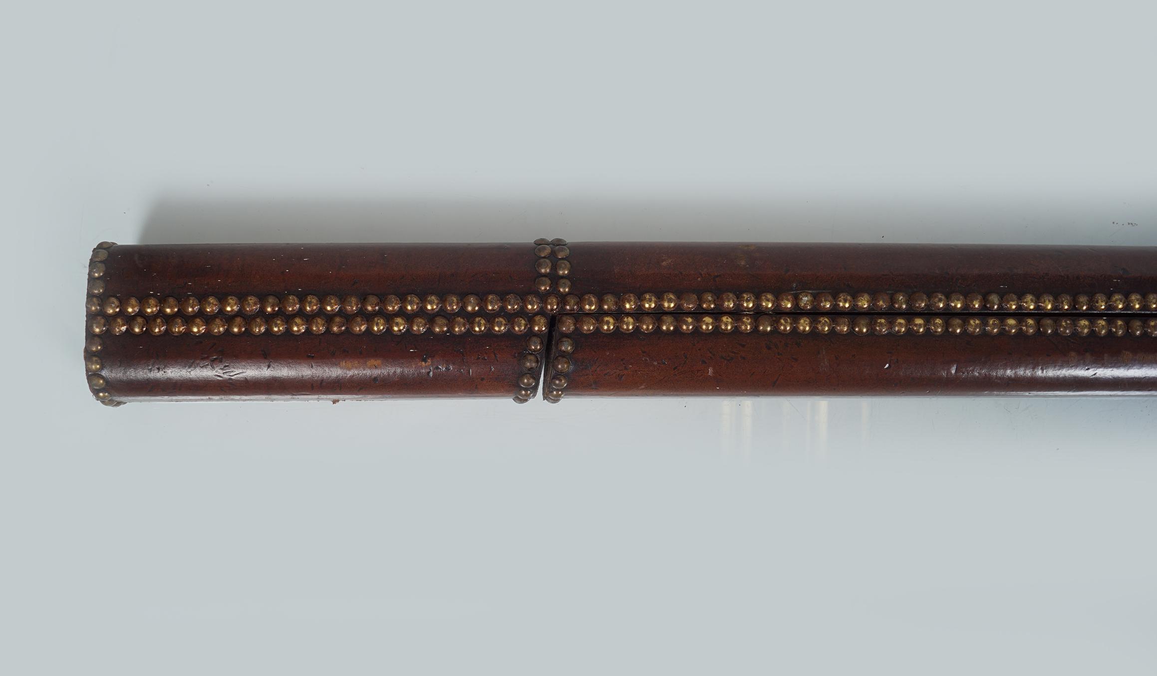 19TH-CENTURY METAMORPHIC LIBRARY POLE - Image 2 of 2