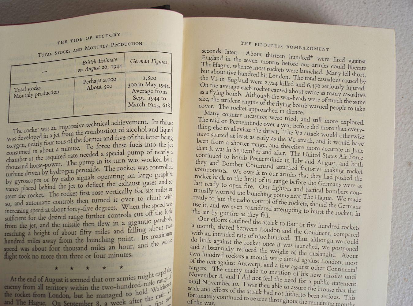 WINSTON CHURCHILL THE SECOND WORLD WAR 6 VOLUMES - Image 6 of 6