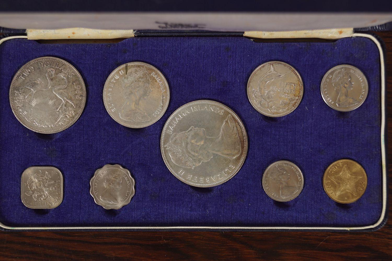 1966 ELIZABETH II BAHAMA ISLAND COINS - Image 2 of 7