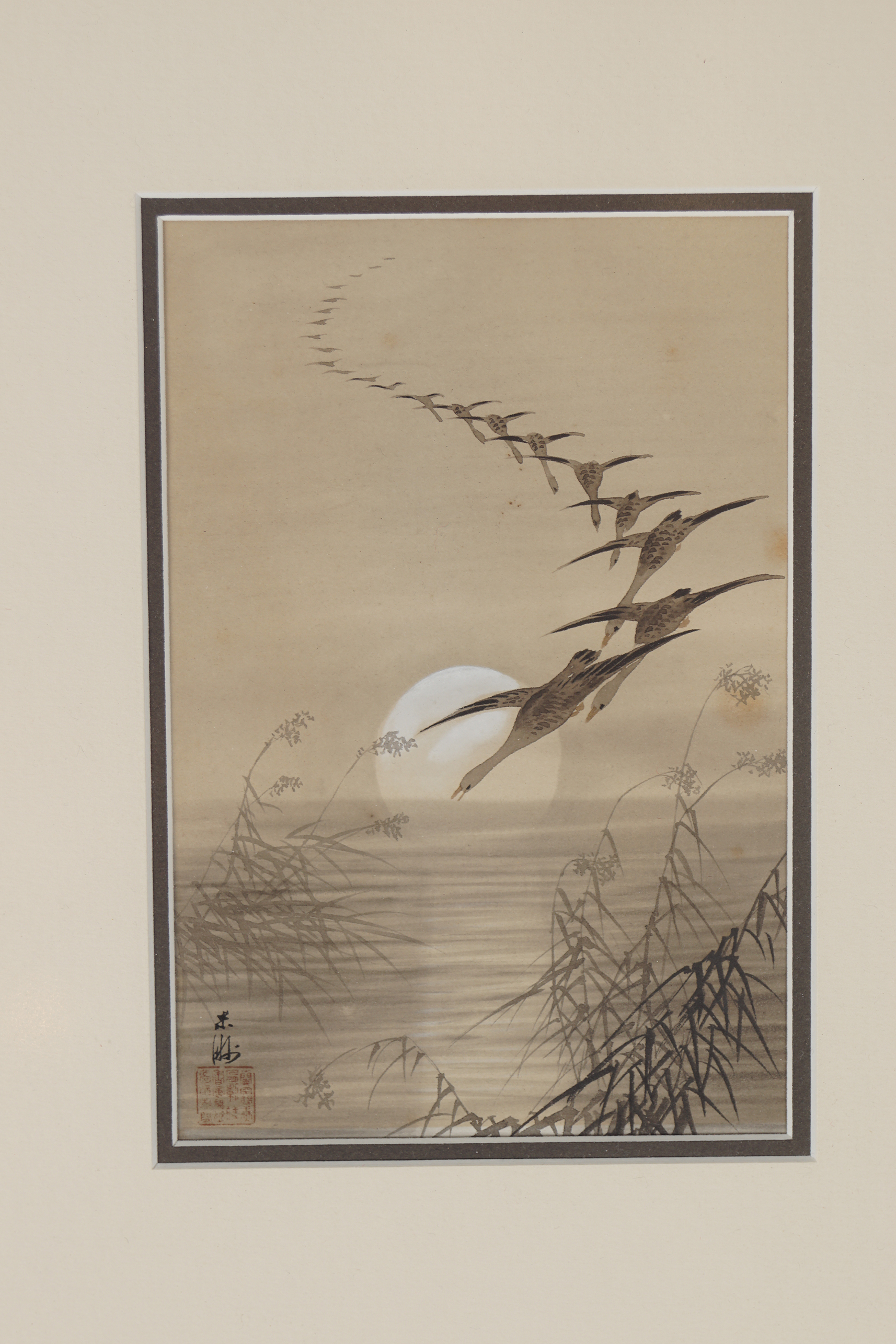 PAIR OF JAPANESE WOODBLOCK PRINTS - Image 3 of 3