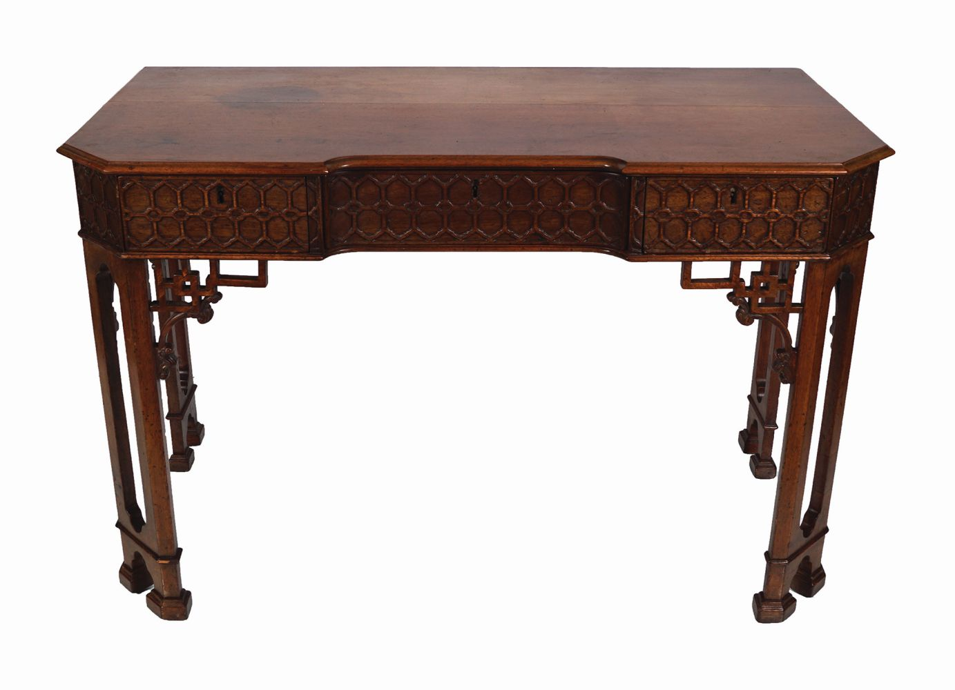 18TH-CENTURY PERIOD CHINESE CHIPPENDALE TABLE