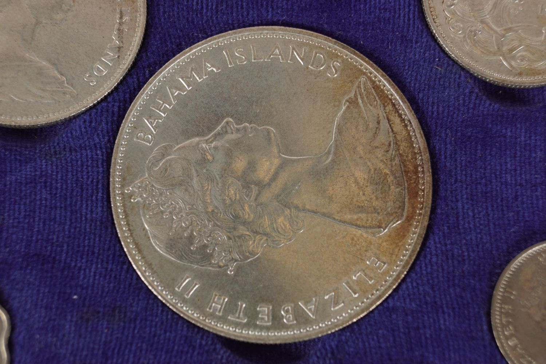 1966 ELIZABETH II BAHAMA ISLAND COINS - Image 5 of 7