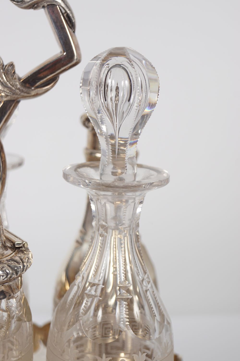 SILVER CONDIMENT SET - Image 3 of 7