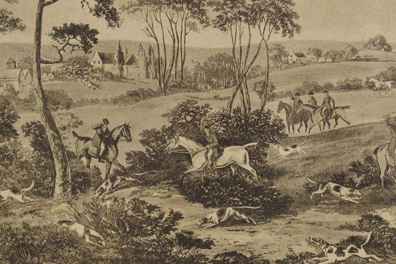 PAIR OF FOX HUNTING PRINTS - Image 6 of 6