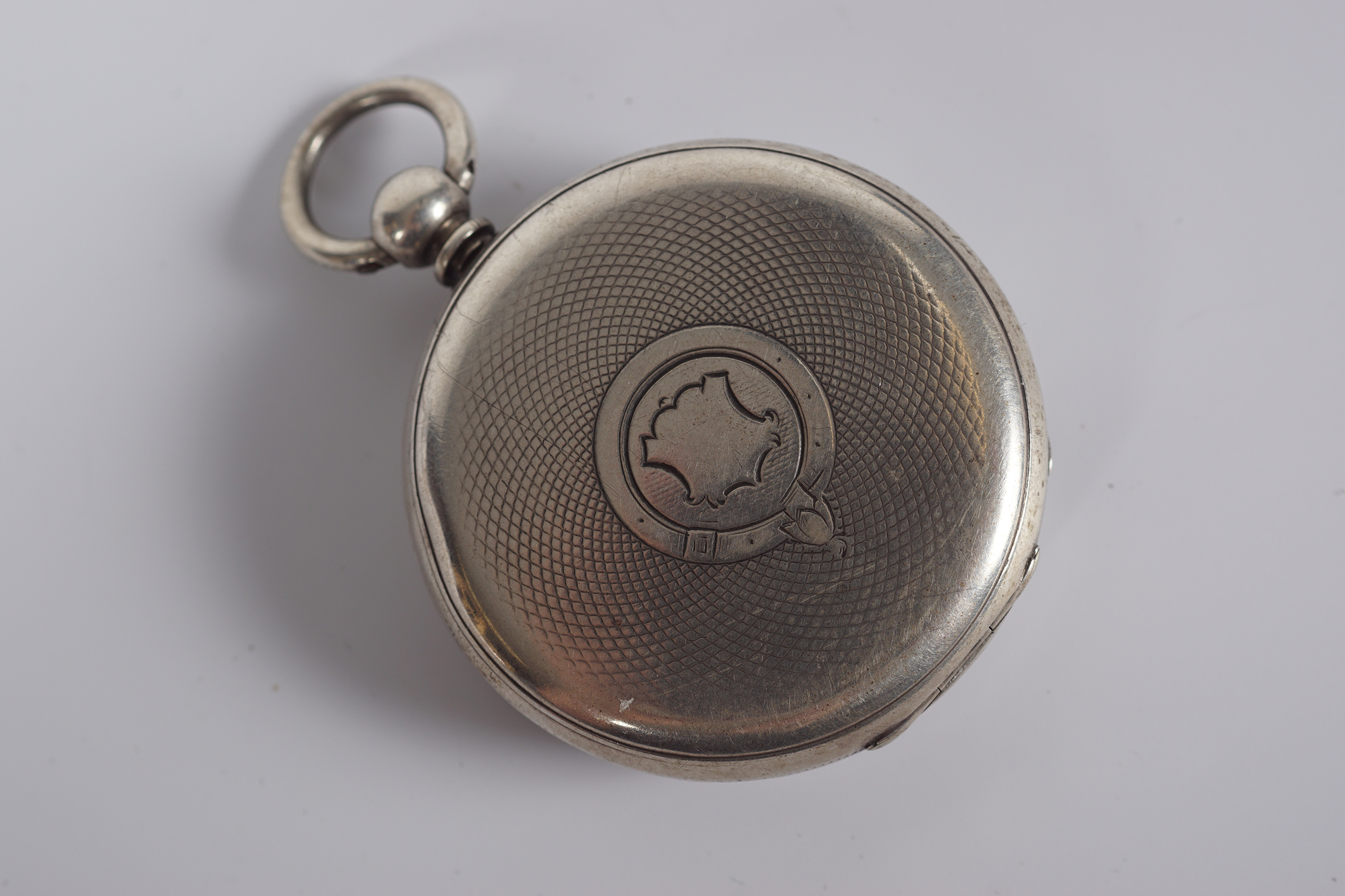 SILVER GENTS POCKET WATCH - Image 3 of 3