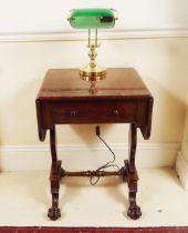 DUBLIN WILLIAM IV MAHOGANY PEMBROKE TABLE