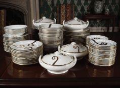 102 BESPOKE PIECE CHINESE DINNER SERVICE
