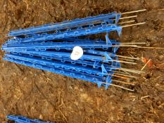 Quantity of electric fence posts