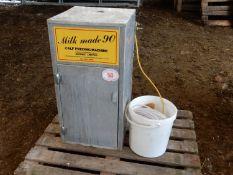 Britmix Ltd Milk Maid 90 calf feeding machine with piping