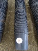 Quantity of black feed buckets
