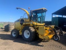 New Holland FX30 Forage Harvester reg CV03HRP Engine hours 2712,