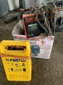 JYS TCB 120 battery charger + 1