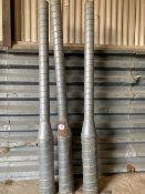 3 x Martin Lishman grain aerators