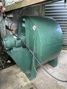 Typhoon 20hp 3 phase grain drying fan