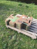 14 x wafer tractor weights