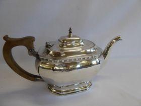 Silver teapot - Sheffield 1960 (21 ozt)