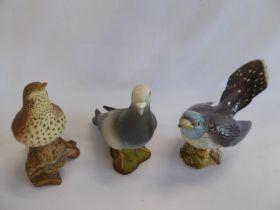 Beswick birds - cuckoo 2315, song thrush 2308,