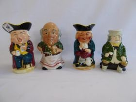 Ceramic toby jugs - Sylvac, Burlington etc.