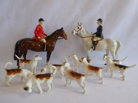 Beswick hunting figures - huntsman,