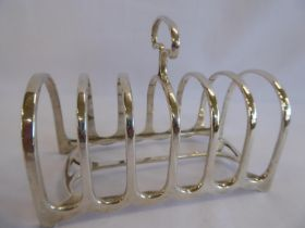 Six slice toast rack - Sheffield 1907