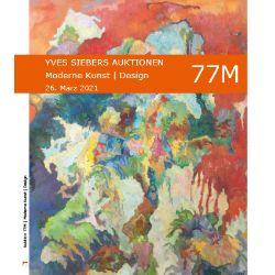 Auktion 77M: Moderne Kunst   Design