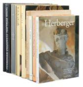 9 Kunstbücher Boeck, Joseph Anton