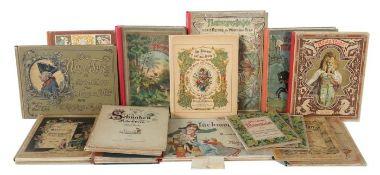 Sammlung von 19 Bilder-/Kinderbüchern
