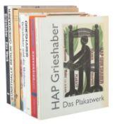 8 Bücher HAP Grieshaber HAP Grieshaber
