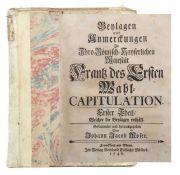 Moser, Johann Jacob (hrsg.) Beylagen
