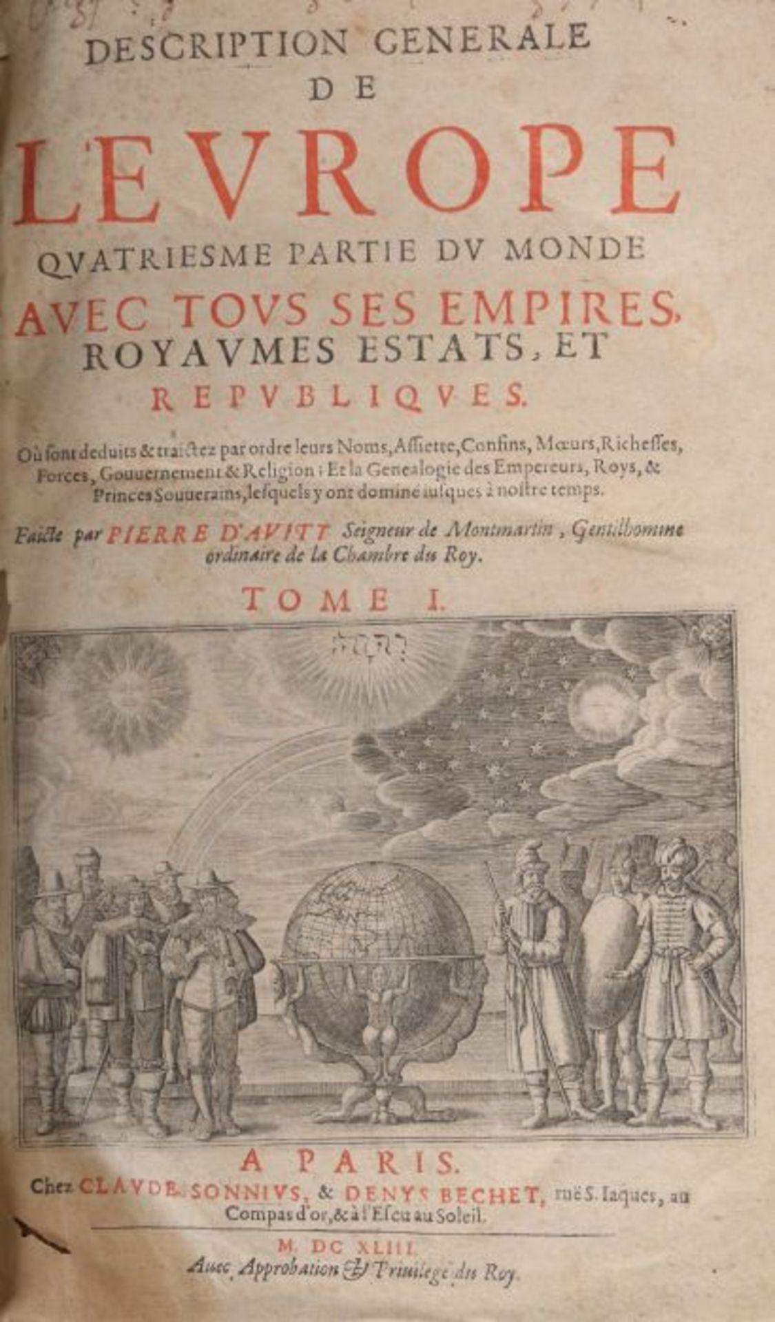 Avity, Pierre de Description generale - Image 4 of 5