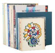 10 Kunstbücher u.a. Pfaender, Meine