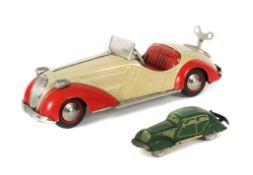 2 x Distler Modellautos Johann