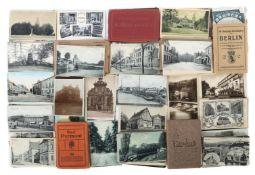 Sammlung Postkarten um 1910/20,