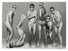 """Photographie-Karte aus der Serie """"Men"""