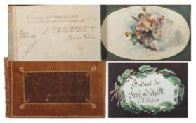 Poesiealbum/Freundschaftsbuch