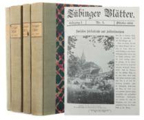 Tübinger Blätter 4 Sammelbände der