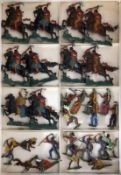LOT CA. 25 ZINNFIGUREN