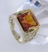 DAMENRING 585/000 Gelbgold mit